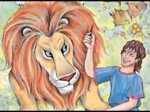 Fábula de El león y el pastor