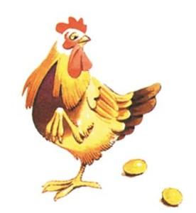 Fábula de La gallina de los huevos de oro