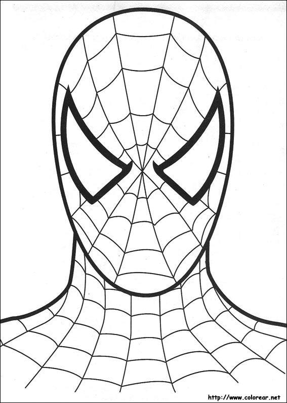 Dibujos de Spiderman para colorear El hombre araa para nios